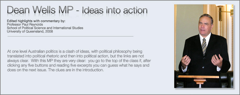 Dean Wells - Ideas into action, ,